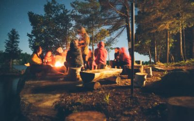 Family Day Campfire at Regional Pacific Spirit Park