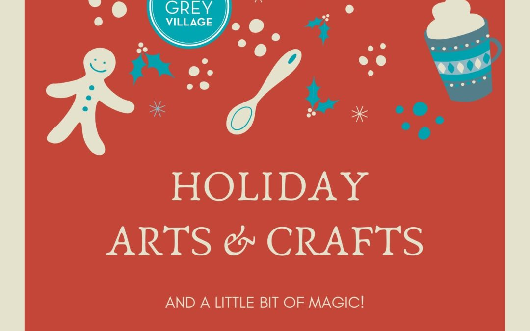 Point Grey Village presents Holiday Arts & Crafts!