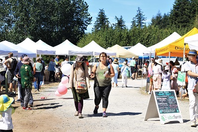 Check out the UBC Farmers' Market while you still can!
