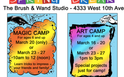 Spring Break Camp at The Brush and Wand