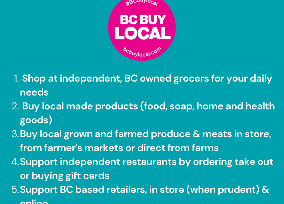 How to Support Local Businesses Across BC