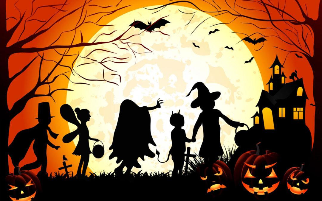 Halloween in Point Grey Village
